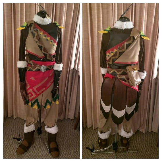 Legend Of Zelda Breath Of The Wild Cosplay Costume For Snowquill Link Armor Custom Commission With 3d Printed Accessories