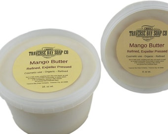 Mango butter-16oz, 1 pound WEIGHT  Pressed, Soap making, lotion,creams,massage oil, bath, beauty, lip balm