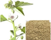 Marshmallow Root Powder. soap making supplies, also for herbal extracts, tinctures, teas, salves, creams, lotions or lip balm
