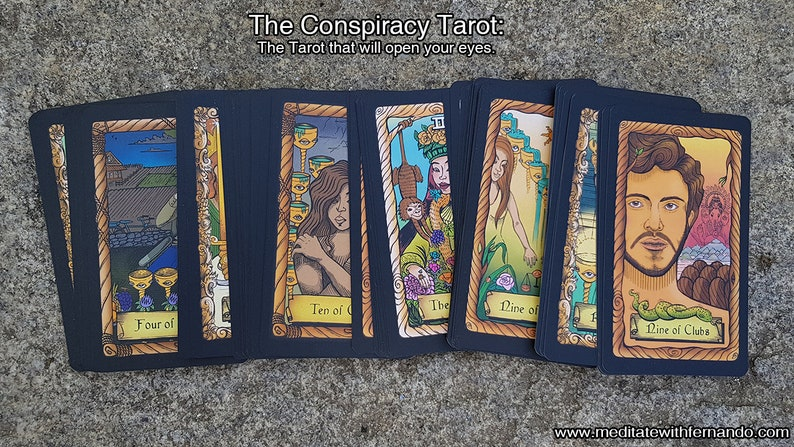The Conspiracy Tarot: A Tarot deck that will open your eyes. image 0
