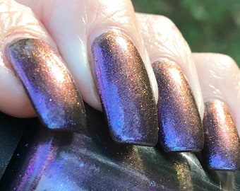 Titan Sand  shifty multichrome nail polish