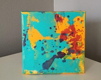 Quantum Burst - Acrylic on Canvas