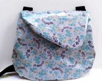 """Cotton bag coated small pan """"Hanako gray"""""""