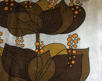 vintage Boras fabric, 'Rio' designed by Helene Wedel
