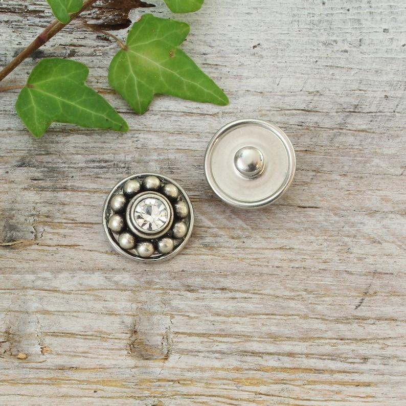 Clicks Metal Compatible-selection single pieces rhinestones precious-chunks Snap button