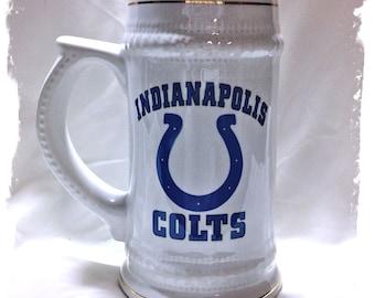 Indianapolis Colts 22 oz Ceramic German Stein