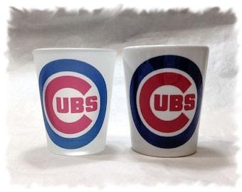 Chicago Cubs Shot Glass