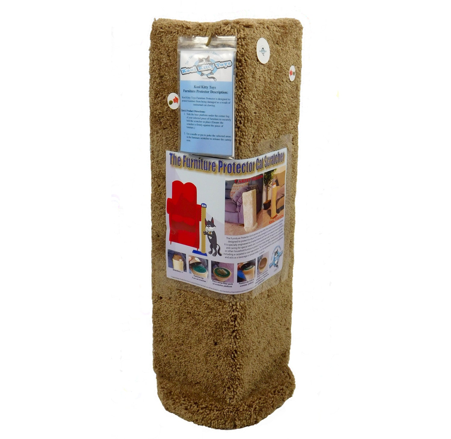 Wide Cat Scratching Board With Catnip Rapid Heat Dissipation Cat Supplies Dishes, Feeders & Fountains