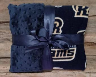 LA Rams Baby Blanket