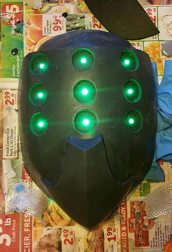 Tempel Jax Maske Basierend Auf League Of Legends Etsy
