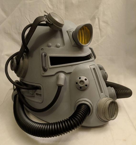 T 51 B Power Armor Helmet Kit Based On Fallout Etsy