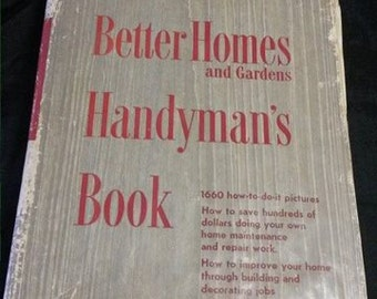 1950's Better Homes and Gardens Handyman Book