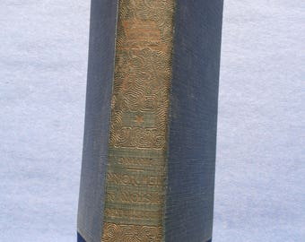 Washington Irving's book, Knickerbockers History of New York. first edition 1894