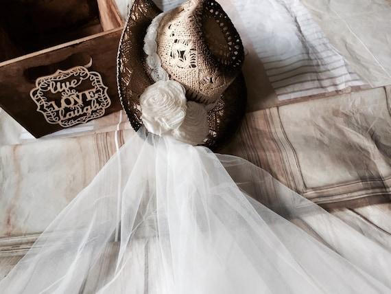 5d9cf844bd4 cowboy hat-western-weddings-bride cowgirl hat bride hat with
