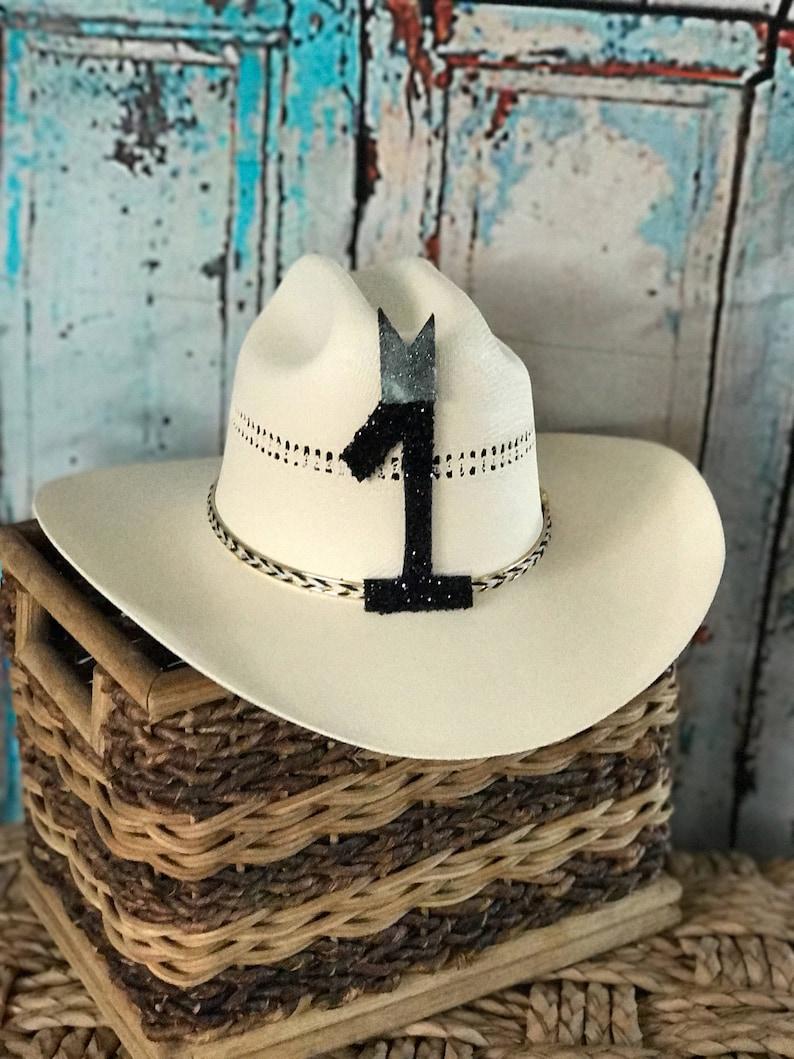 Birthday Crown Boy 1 Year Old Hat Boys Cowboy