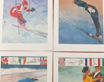 1980 Winter Olympics Prints from Procter and Gamble