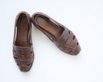 7865d4663187 Vintage Cole Haan Country Huarache Sandals