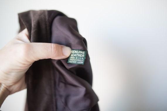 Vintage Suede Longline Shorts   Brown Suede Short… - image 9