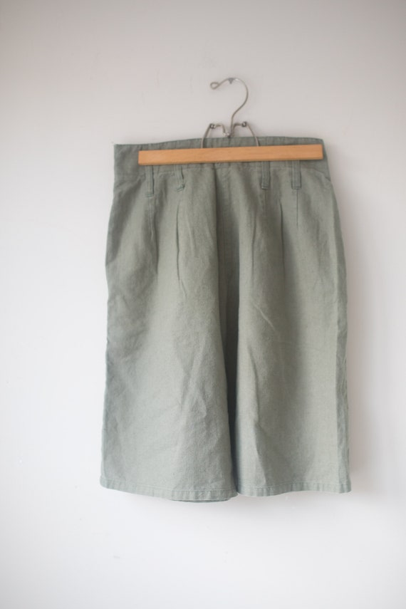 Vintage High Waisted Shorts   High Rise Cotton Sh… - image 6
