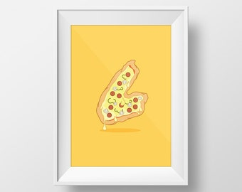 Cape Breton Pizza   5 x 7 Print