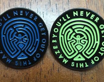 Maze / Westworld Pins