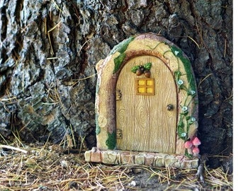 Fairy door for tree | Etsy