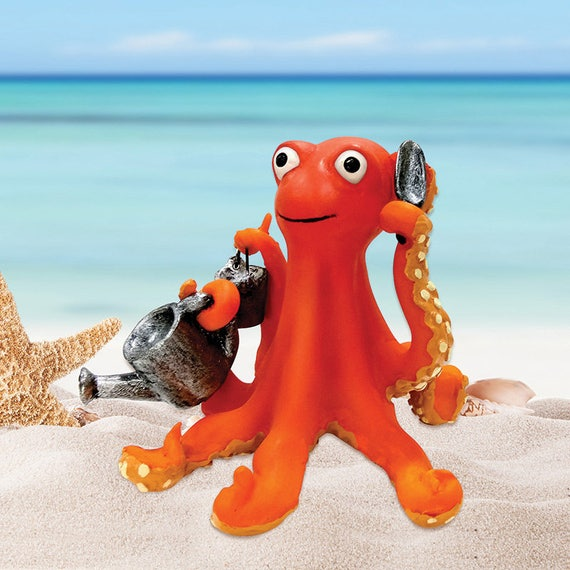 Jardin de fée Mini - jardinage Octopus - Miniature fournitures Accessoires maison de poupée