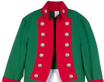 Boys American Revolutionary War Costume British Red Coat | Etsy