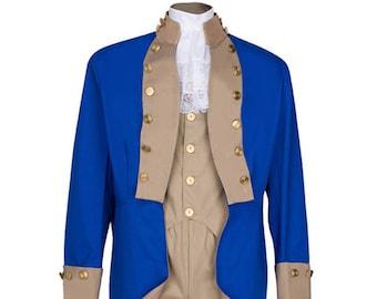 Adult American Revolution British Red Coat Revolutionary War