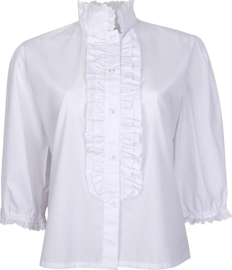 1900 -1910s Edwardian Fashion, Clothing & Costumes Ladies 19th Century Victorian Blouse $39.97 AT vintagedancer.com