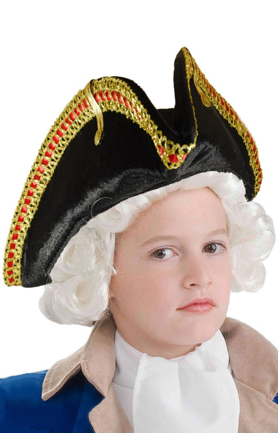 bcc7bb09b94 Colonial Inspired Commander or Officer s Hat Pirate Hat