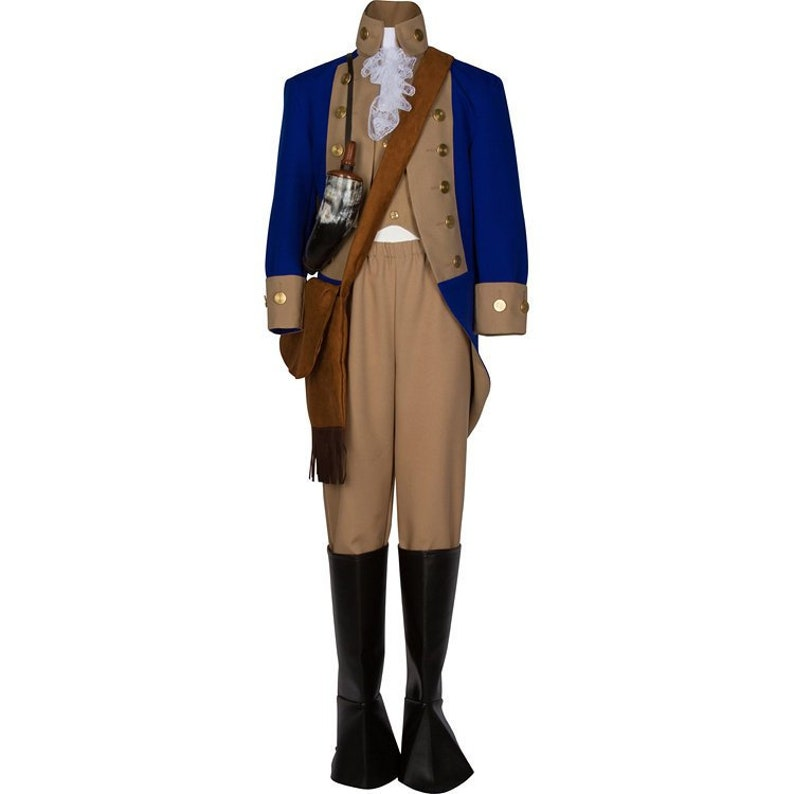 9cc8f9d4f02 Deluxe Girls Revolutionary War Deborah Sampson Costume