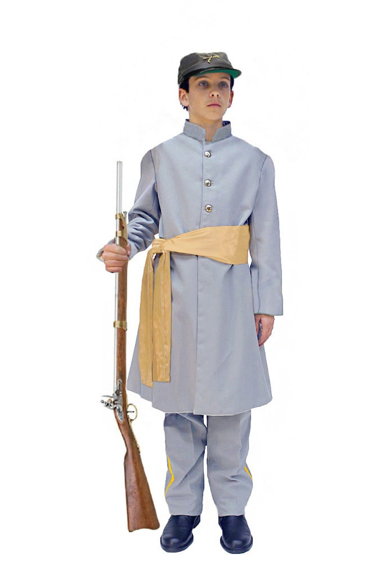76b28ad5c8 Children s American Civil War Confederate Soldier Uniform
