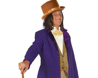 Children's Willy Wonka Inspired Costume - Victorian and Steampunk Period Clothing