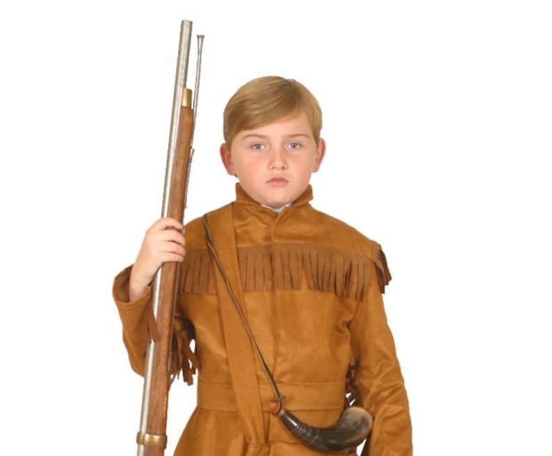 47d193442 Davy Crockett Costume American Historical Figures | Etsy