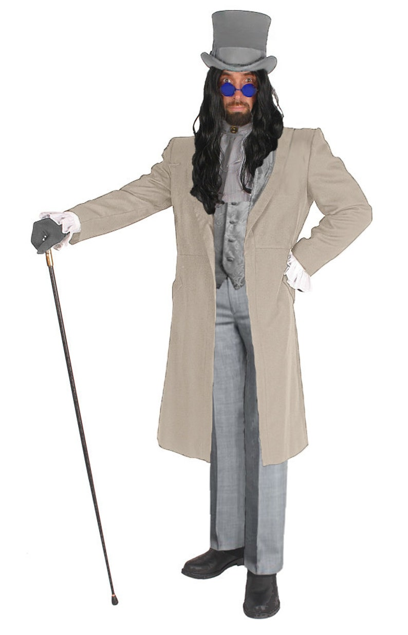 Victorian Men's Costumes: Mad Hatter, Rhet Butler, Willy Wonka Adult Victorian Vampire High Quality Costume Inspired by Gary Oldman Dracula Classy and Sophisticated Great for Parties and Events $157.97 AT vintagedancer.com