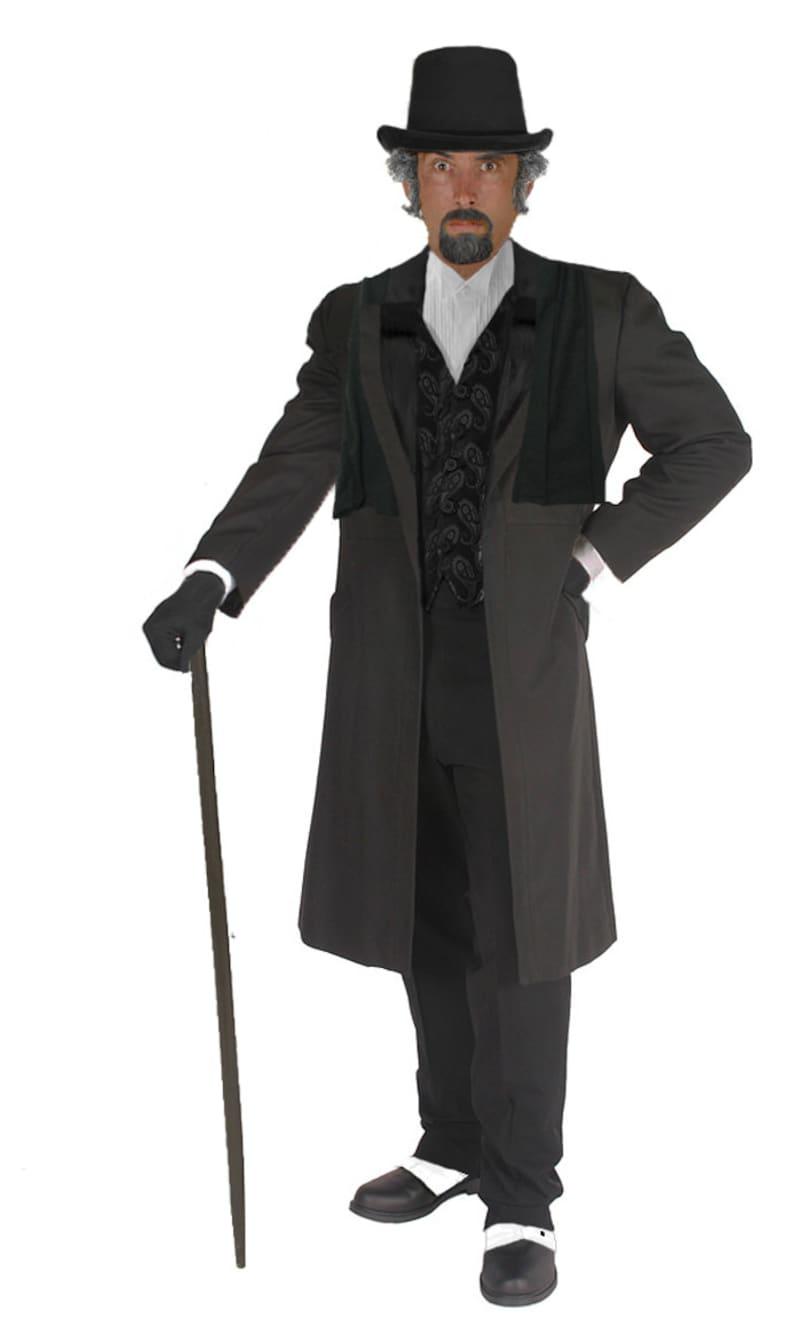 76645a681b0b08 Adult Ebenezer Scrooge Costume Charles Dickens Christmas Carol | Etsy