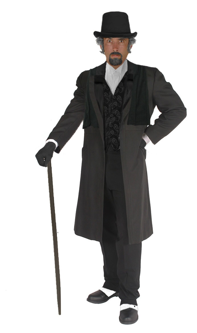Spats, Gaiters, Puttees – Vintage Shoes Covers Adult Ebenezer Scrooge Costume Charles Dickens Christmas Carol Bah Humbug Perfect For Parties Plays Caroling  Victorian Attire $219.97 AT vintagedancer.com