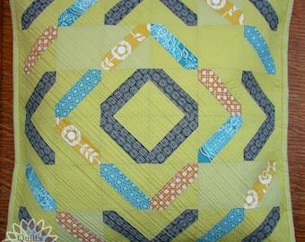 Sticks Pillow 19x19 inches PDF pattern