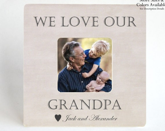 Father\'s Day Gift for Grandfather Grandpa - PICTURE FRAME ...