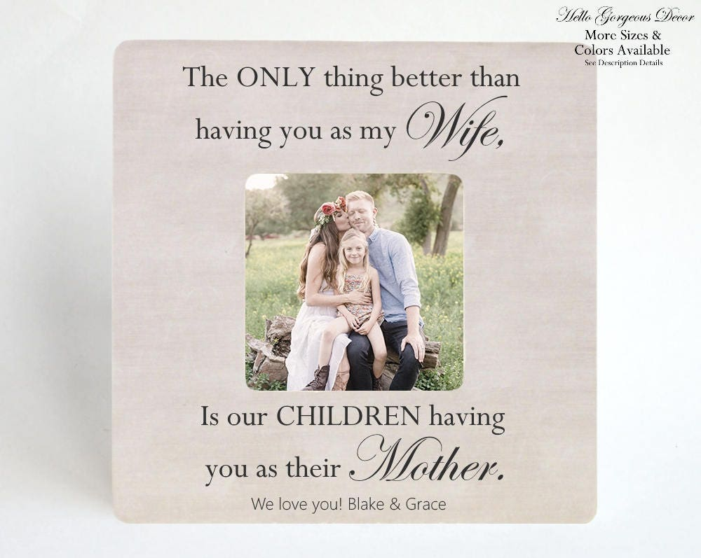 Valentine\'s Day Gift To Her / Wife - PICTURE FRAME - Personalized ...