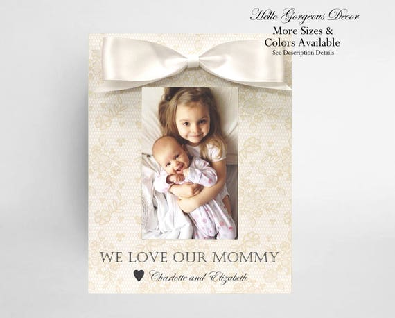 Mom Gift Picture Frame Personalized Mother Birthday Gift Ideas New ...