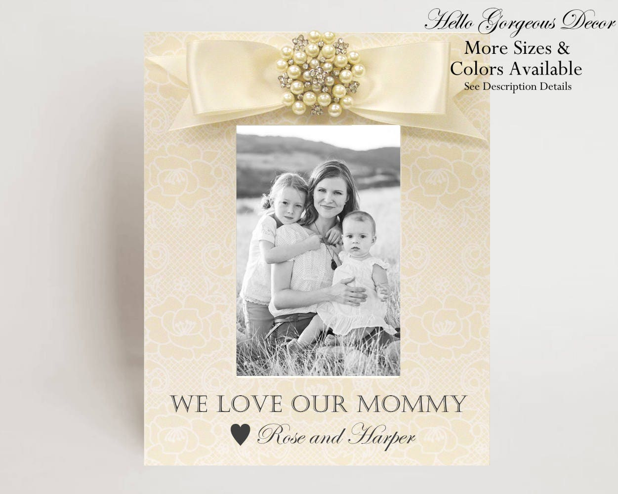 Mom Mother Gift Picture Frame Gift to Mom from Kids