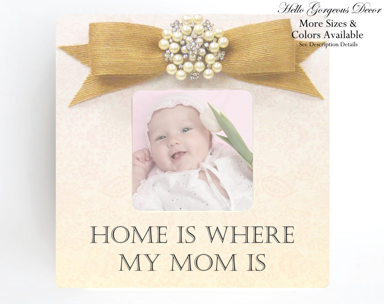 Mother Picture Frame Gift Ideas Mom Mommy New Baby Shower