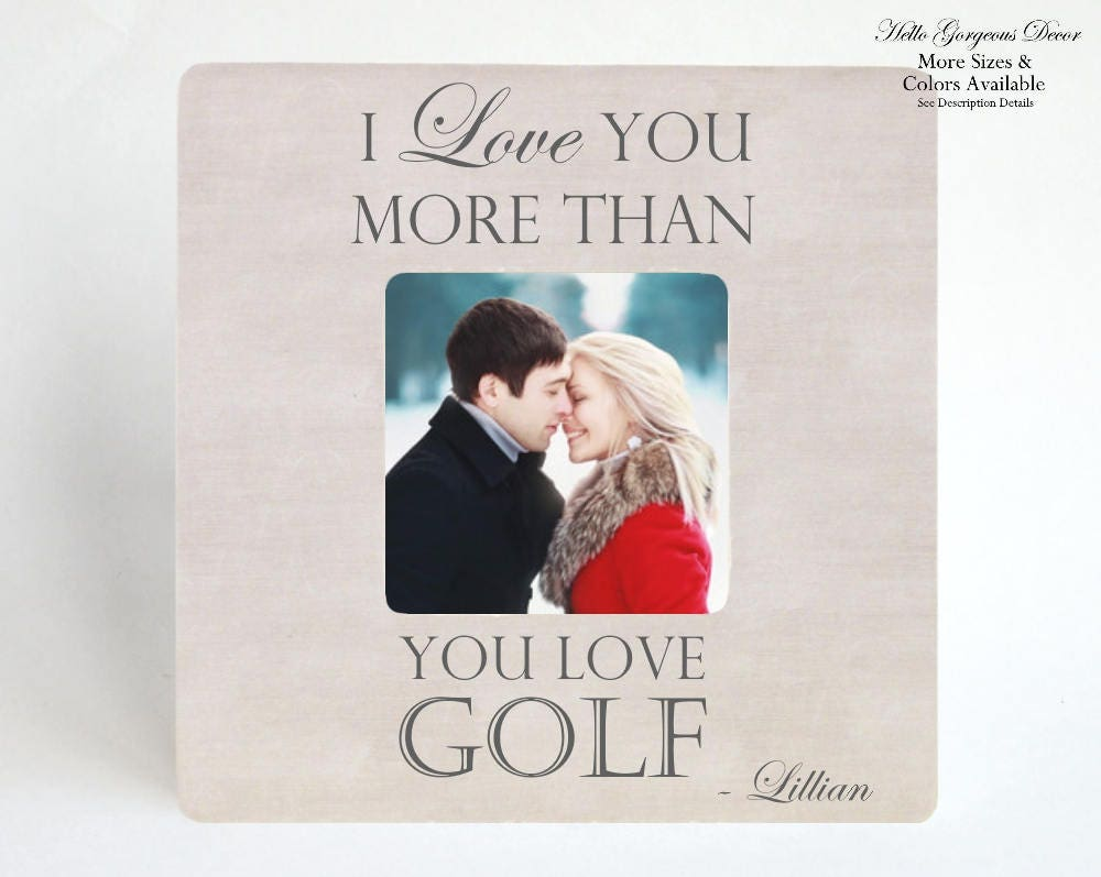 Valentines Day Gift For Him Personalized Picture Frame Gift For