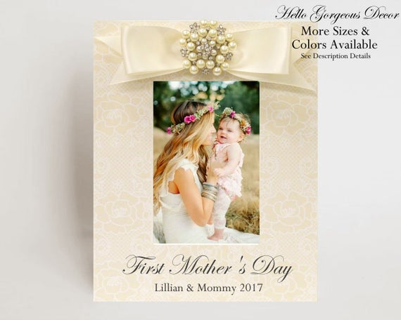 FIRST MOTHER\'S DAY Gift to Mom Mother from Baby Picture | Etsy