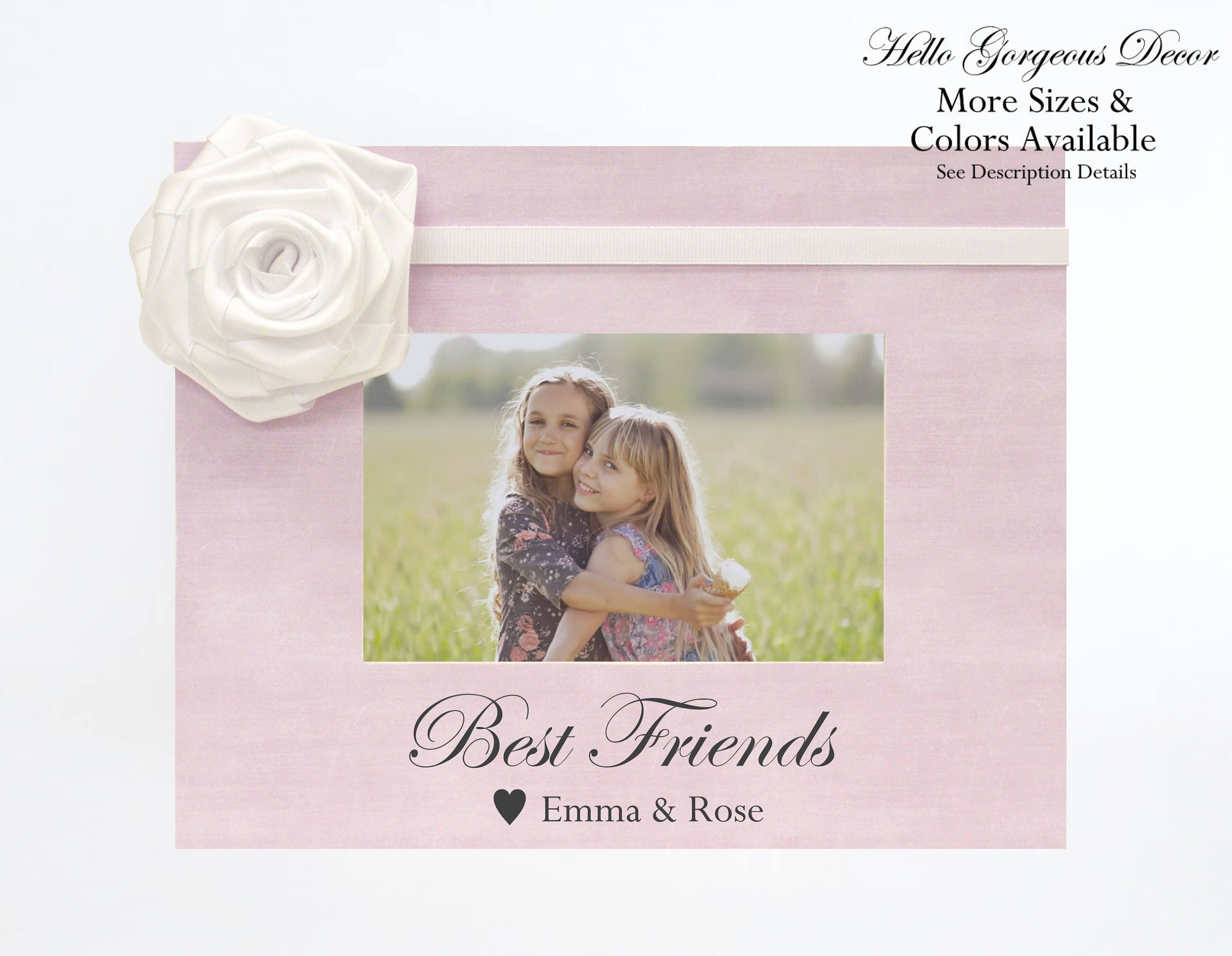 Best Friends Picture Frame Personalized
