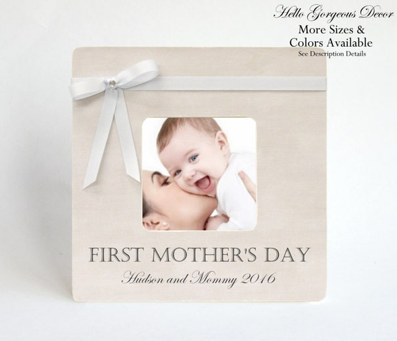 Mother\'s Day Gift FIRST MOTHER\'S DAY Picture Frame To | Etsy