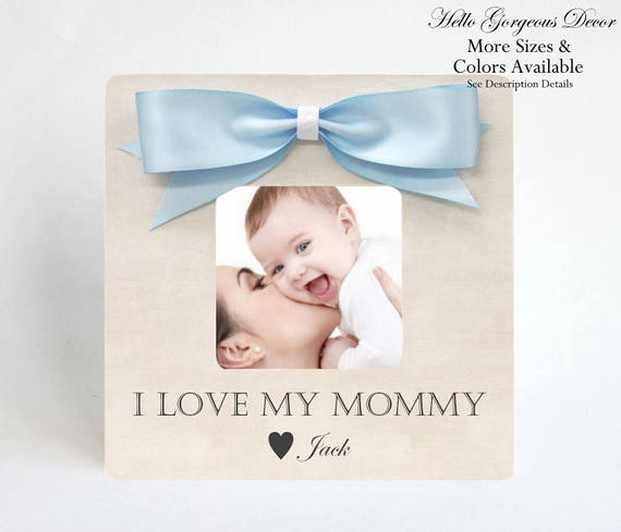 Gift Mom Mother From Son Picture Frame Personalized