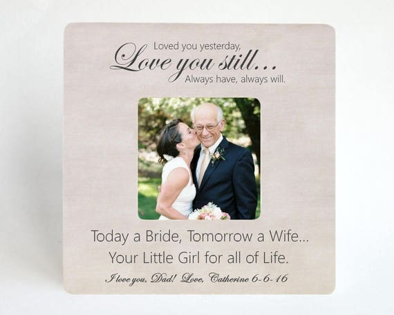 Father Gift To Daughter On Wedding Day: Father Of The Bride Gift To Dad From Daughter On Wedding